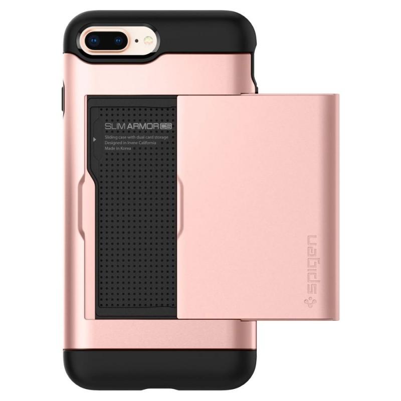 Spigen Slim Armor CS iPhone 8 Plus/7 Plus Rose Goud - 3