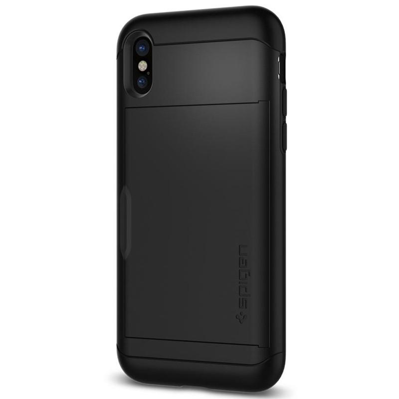 Spigen - Slim Armor CS iPhone 8 Hoesje Black 09