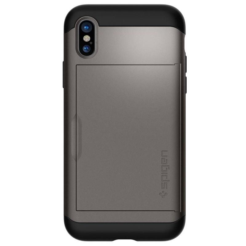 Spigen - Slim Armor CS iPhone 8 Hoesje GunMetal 08