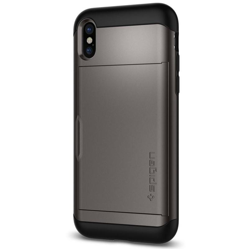 Spigen - Slim Armor CS iPhone 8 Hoesje GunMetal 09