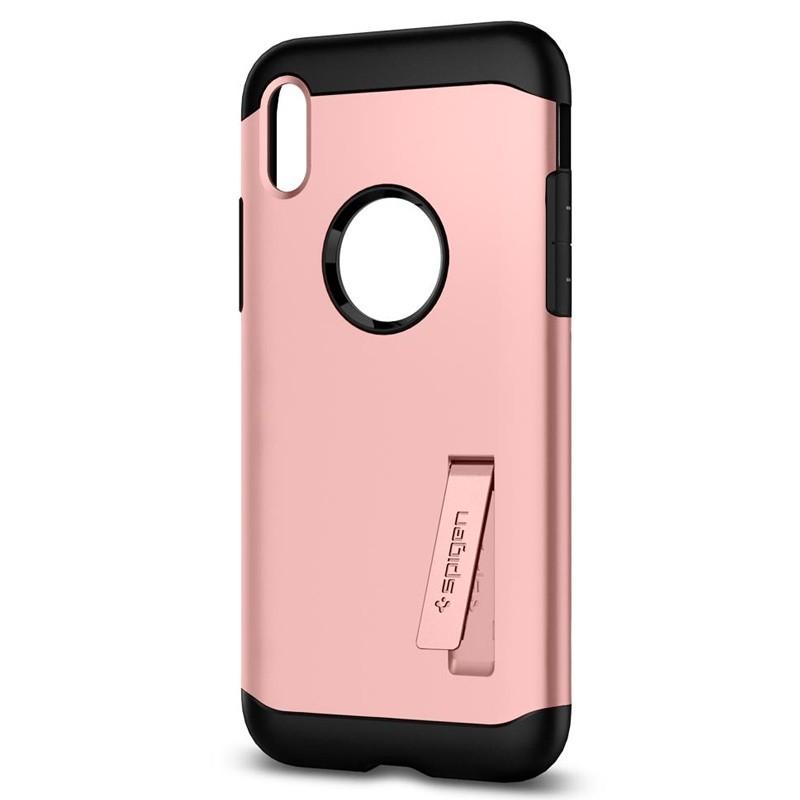 Spigen - Slim Armor iPhone 8 Hoesje Rose Gold 04