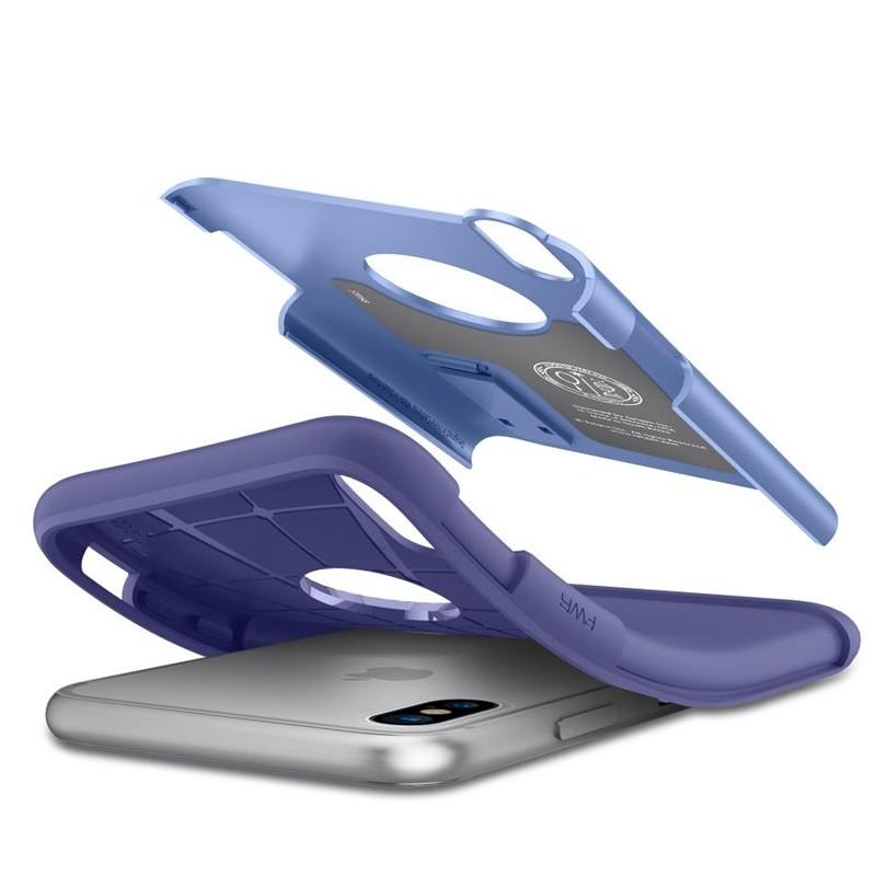 Spigen - Slim Armor iPhone 8 Hoesje Violet 03