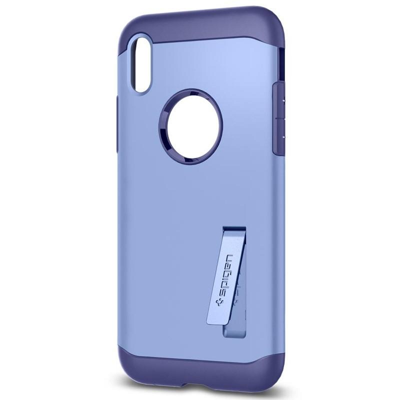 Spigen - Slim Armor iPhone 8 Hoesje Violet 04