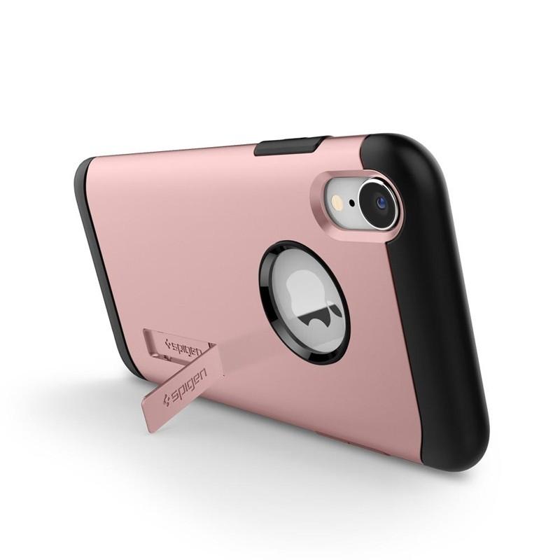 Spigen Slim Armor iPhone XR Hoesje Rose Gold 05