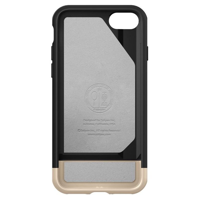 Spigen Style Armor Case iPhone 7 Black/Gold - 3
