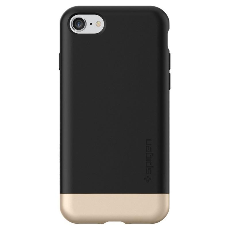 Spigen Style Armor Case iPhone 7 Black/Gold - 4