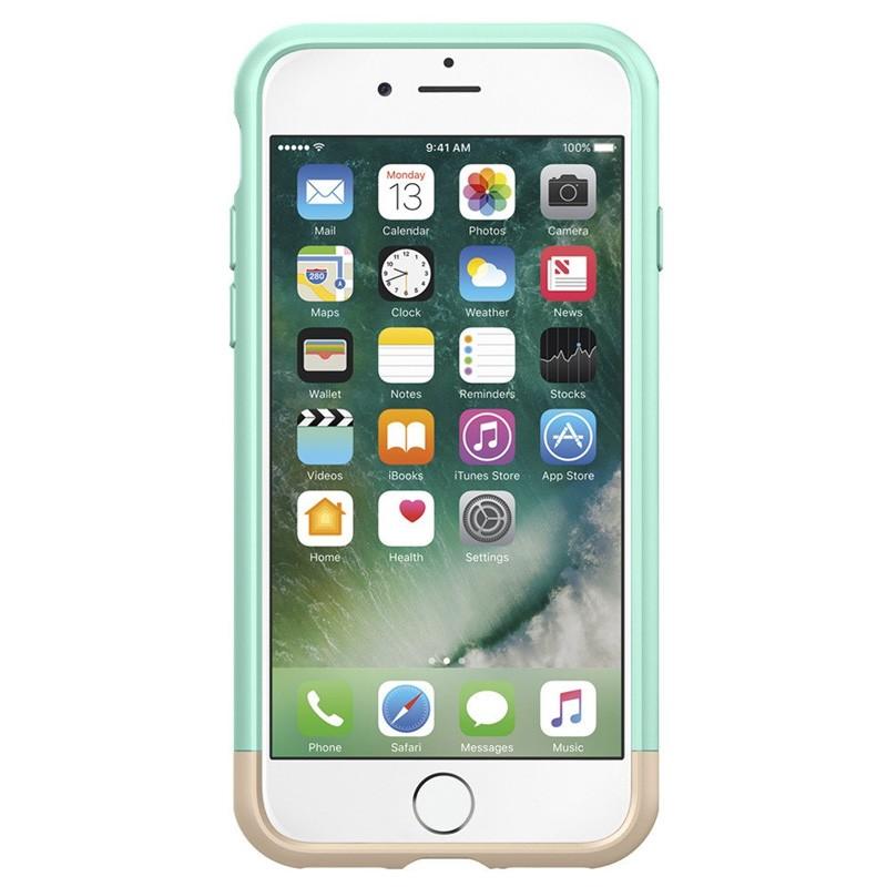 Spigen Style Armor Case iPhone 7 Mint Green/Gold - 2