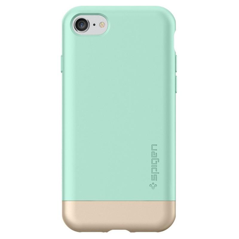 Spigen Style Armor Case iPhone 7 Mint Green/Gold - 4