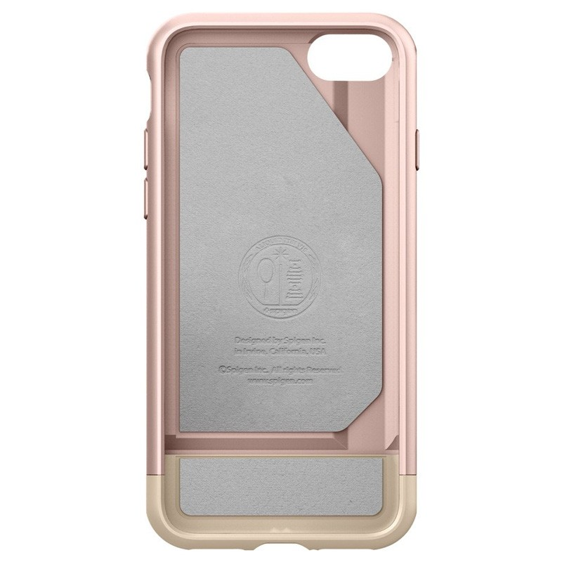 Spigen Style Armor Case iPhone 7 Rose Gold/Gold - 3