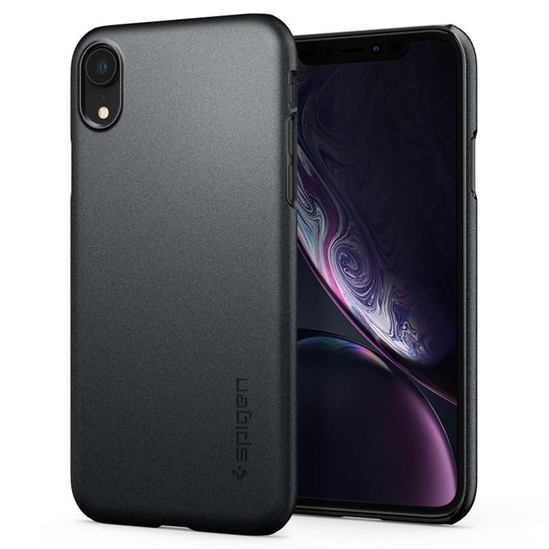 Spigen Thin Fit iPhone XR Case Graphite Grey 06