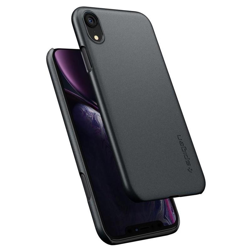 Spigen Thin Fit iPhone XR Case Graphite Grey 02