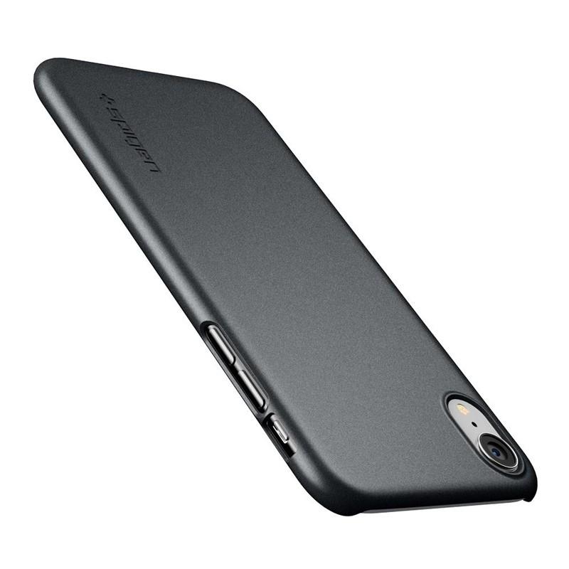Spigen Thin Fit iPhone XR Case Graphite Grey 03