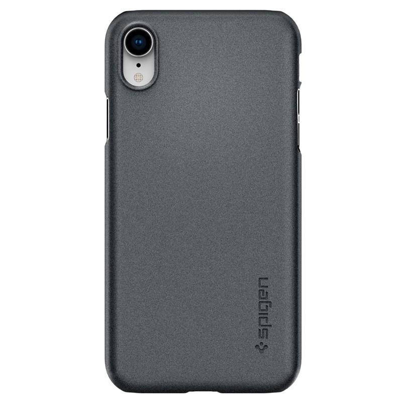 Spigen Thin Fit iPhone XR Case Graphite Grey 01