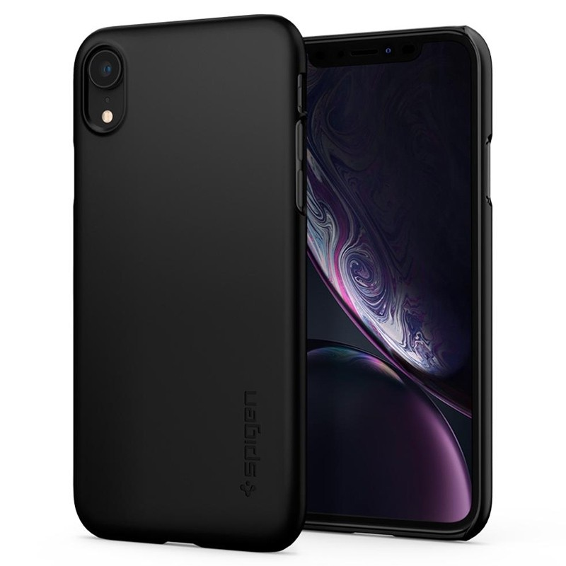 Spigen Thin Fit iPhone XR Case Zwart 06