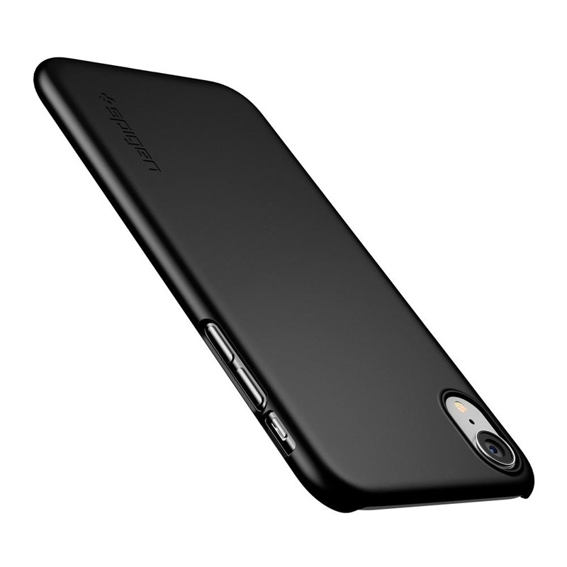 Spigen Thin Fit iPhone XR Case Zwart 03