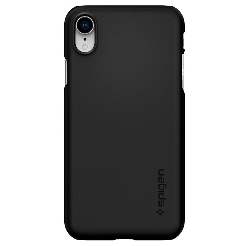 Spigen Thin Fit iPhone XR Case Zwart 01
