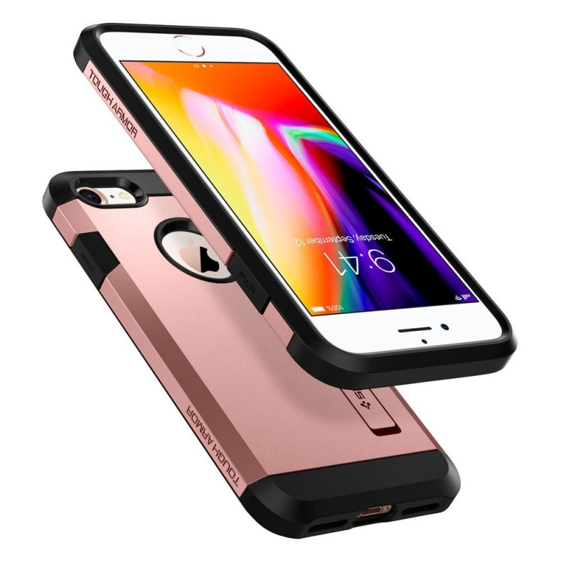 Spigen Tough Armor 2 iPhone 8/7 Hoesje Roze - 2