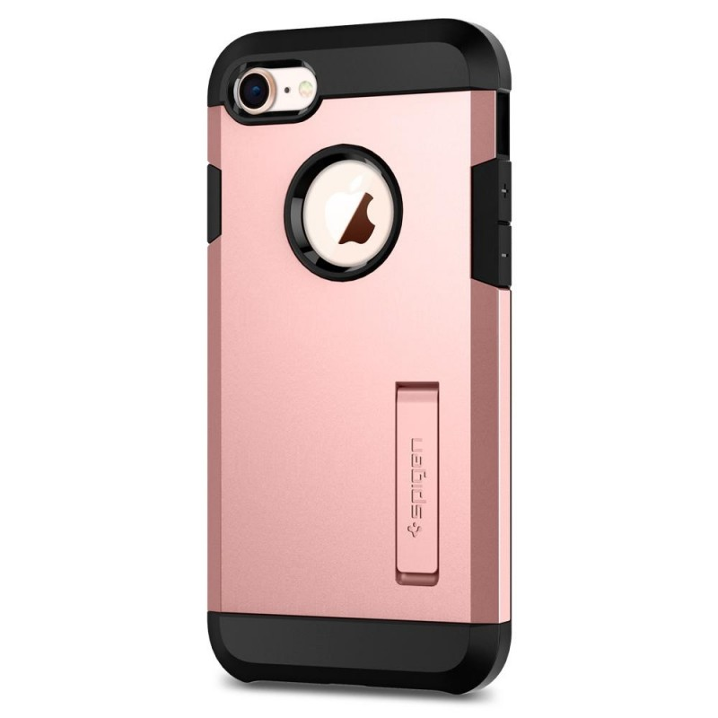 Spigen Tough Armor 2 iPhone 8/7 Hoesje Roze - 6