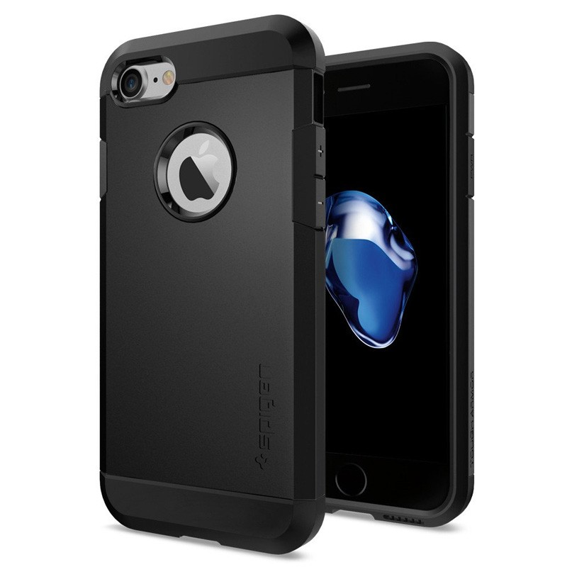 Spigen Tough Armor Case iPhone 7 Black - 1