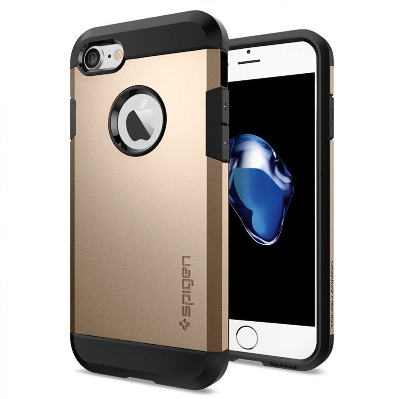 Spigen Tough Armor Case iPhone 7 Champagne Gold - 1