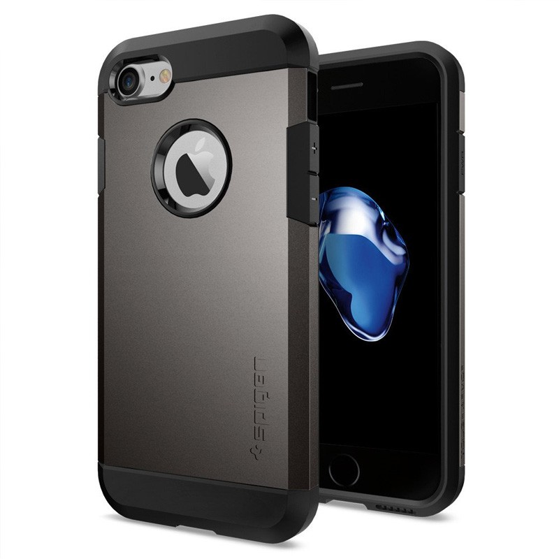 Spigen Tough Armor Case iPhone 7 Gunmetal - 1