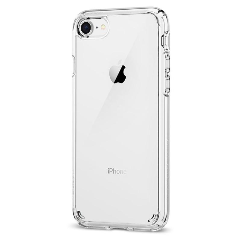 Spigen Ultra Hybrid 2 Case iPhone 8/7 Transparant - 3
