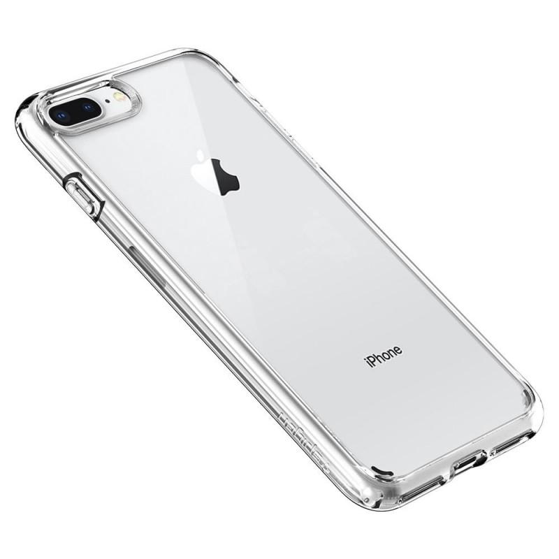 Spigen Ultra Hybrid 2 Case  iPhone 8 Plus/7 Plus Transparant - 2