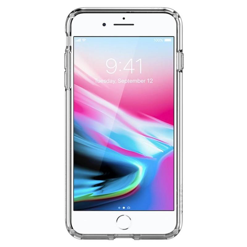Spigen Ultra Hybrid 2 Case  iPhone 8 Plus/7 Plus Transparant - 4