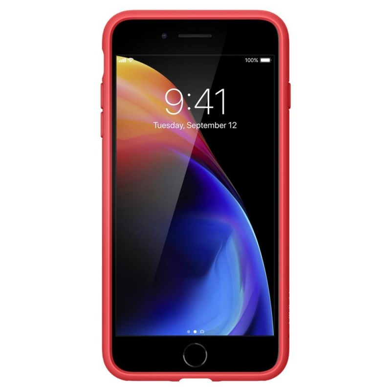 Spigen Ultra Hybrid 2 Case iPhone 8 Plus/7 Plus Rood - 3