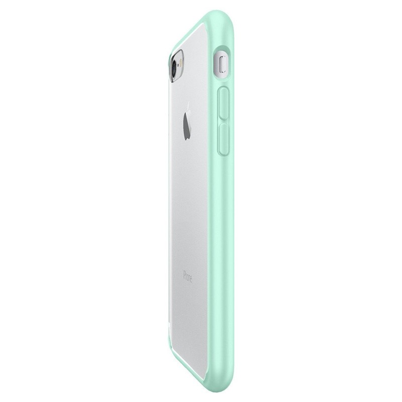 Spigen Ultra Hybrid iPhone 7 Mint Green/Clear - 4