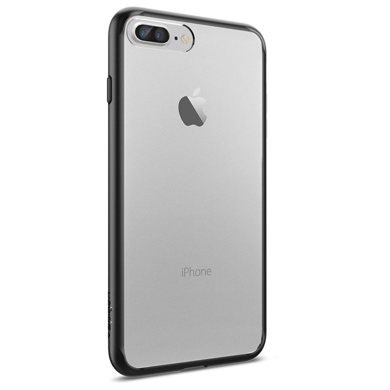 Spigen Ultra Hybrid iPhone 7 Plus Black/Clear - 3