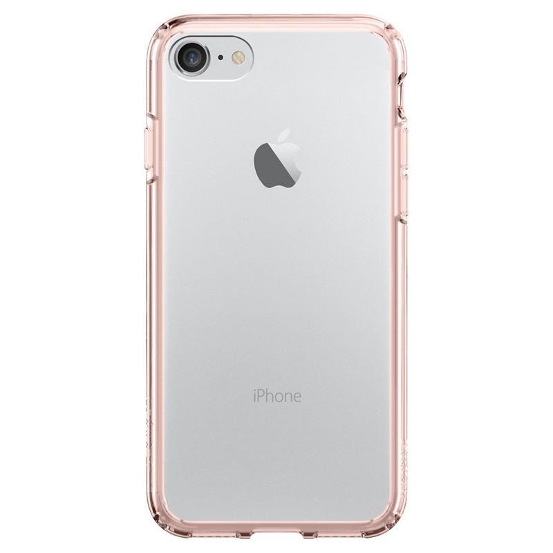 Spigen Ultra Hybrid iPhone 7 Rose Gold/Clear - 2