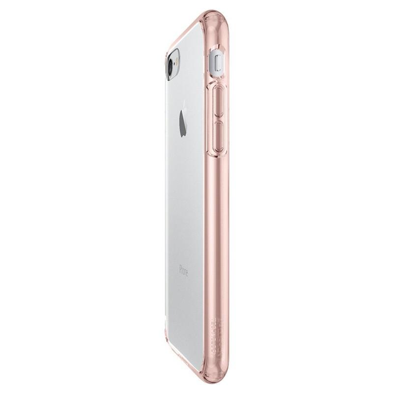 Spigen Ultra Hybrid iPhone 7 Rose Gold/Clear - 4