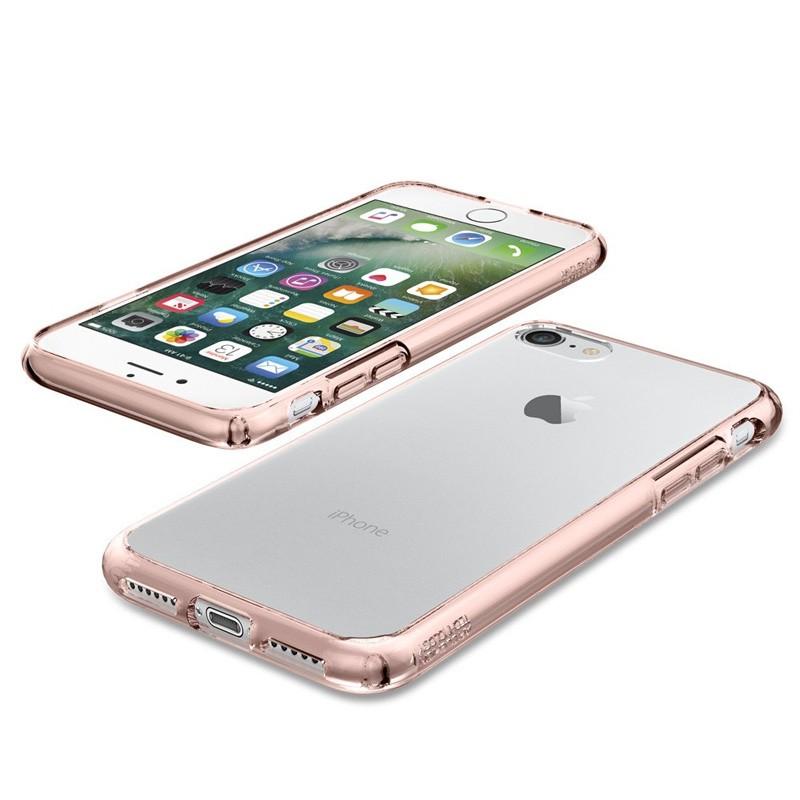 Spigen Ultra Hybrid iPhone 7 Rose Gold/Clear - 3