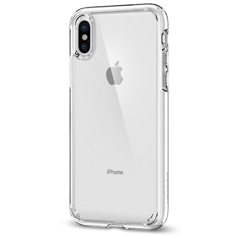 Spigen - Ultra Hybrid iPhone X/Xs Hoesje Clear 05