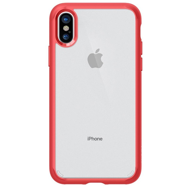Spigen - Ultra Hybrid iPhone 8 Hoesje Red 04