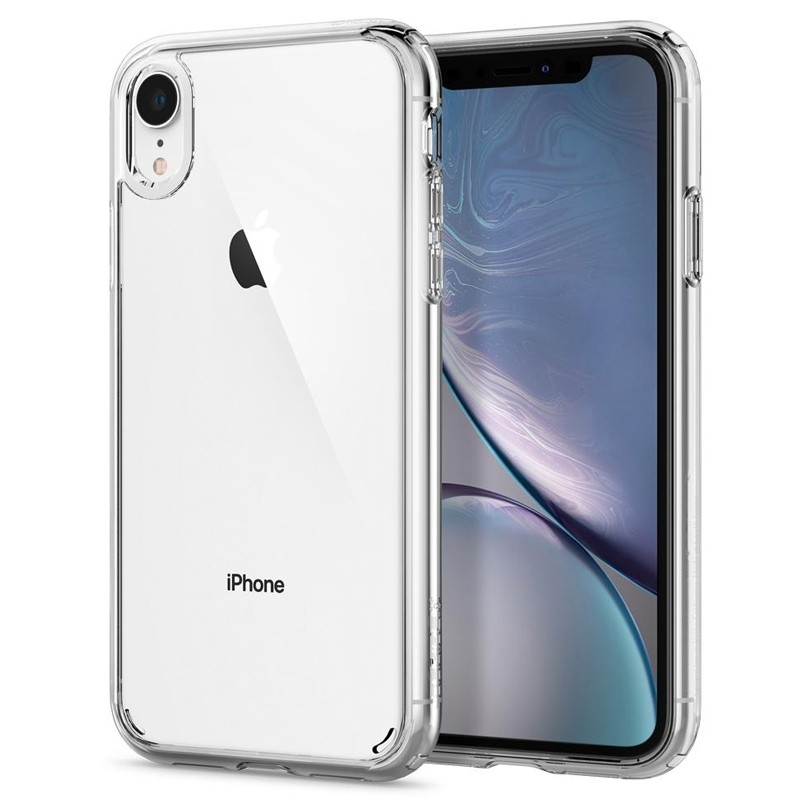 Spigen - Ultra Hybrid iPhone XR Hoes Transparant 01