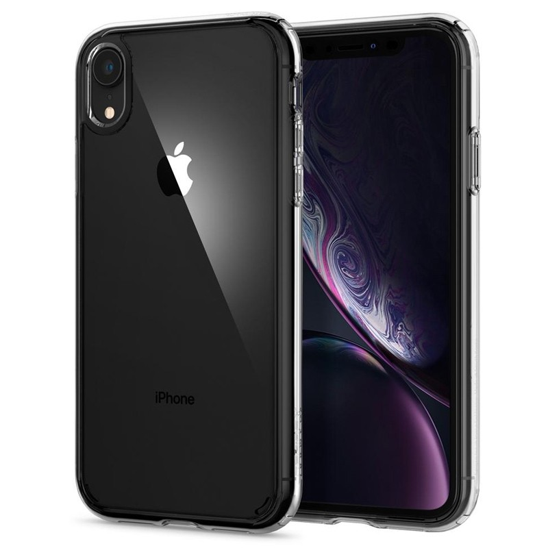 Spigen - Ultra Hybrid iPhone XR Hoes Transparant 07
