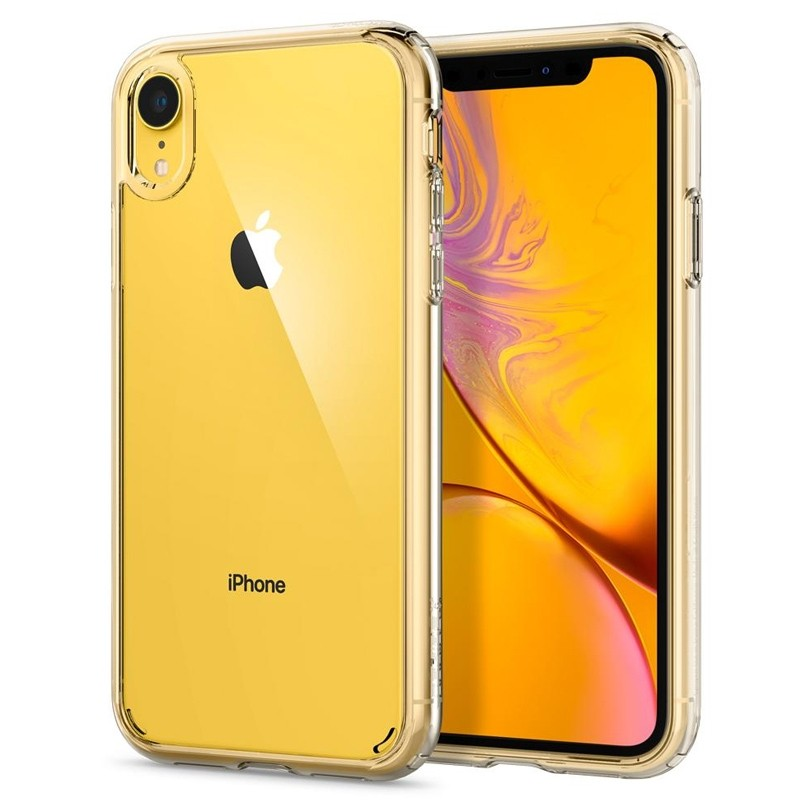 Spigen - Ultra Hybrid iPhone XR Hoes Transparant 08