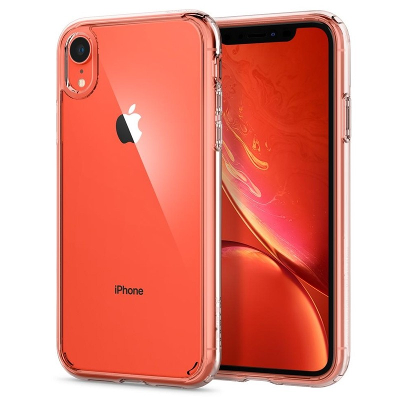 Spigen - Ultra Hybrid iPhone XR Hoes Transparant 09