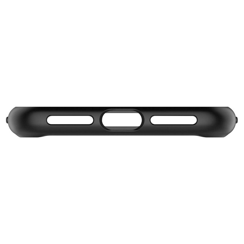 Spigen Ultra Hybrid iPhone XS Max Hoesje zwart / transparant 06