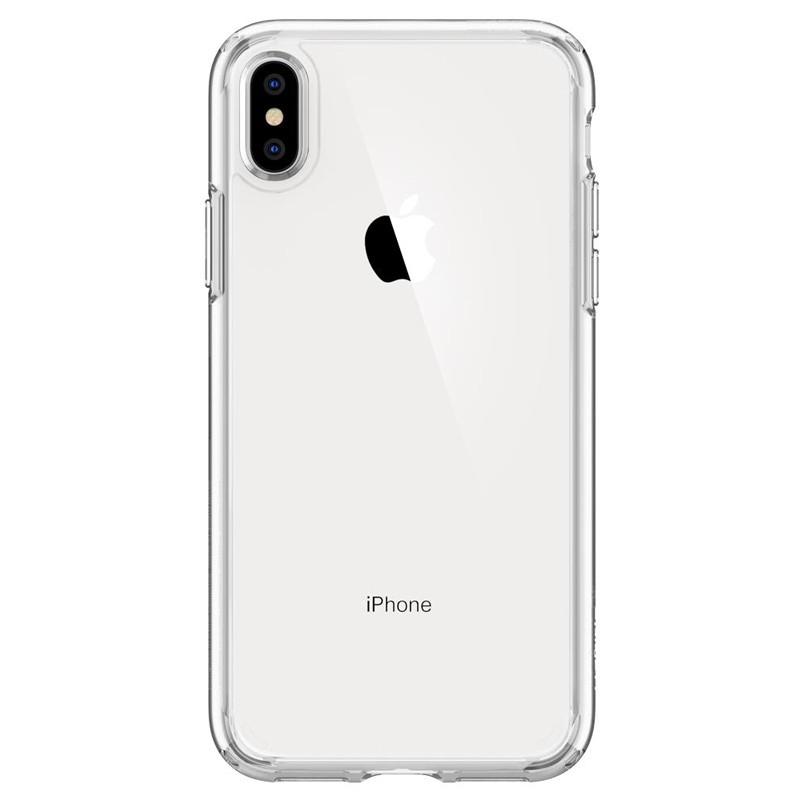 Spigen Ultra Hybrid iPhone XS Max Hoesje transparant 01