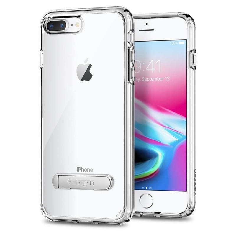 Spigen Ultra Hybrid S Case iPhone 8 Plus/7 Plus Transparant - 1