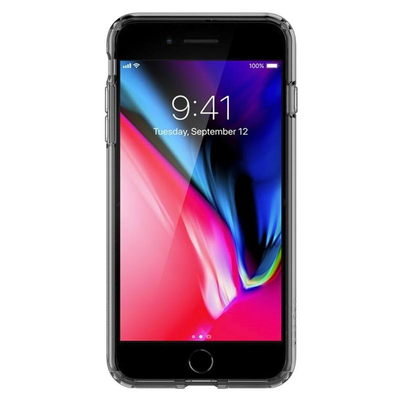 Spigen Ultra Hybrid S Case iPhone 8 Plus/7 Plus Zwart - 4