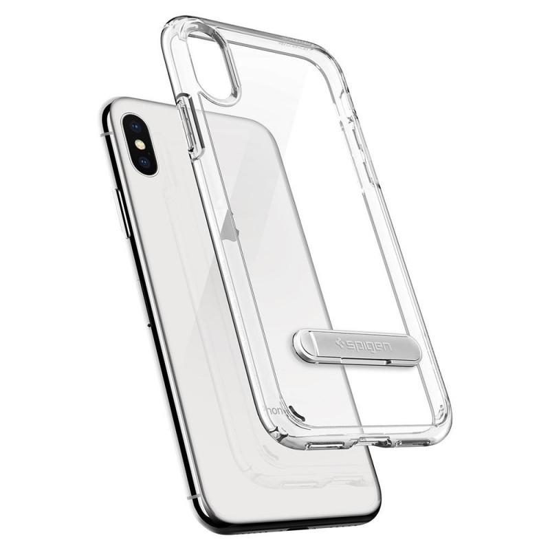 Spigen Ultra Hybrid S iPhone X/Xs Hoesje Transparant - 2