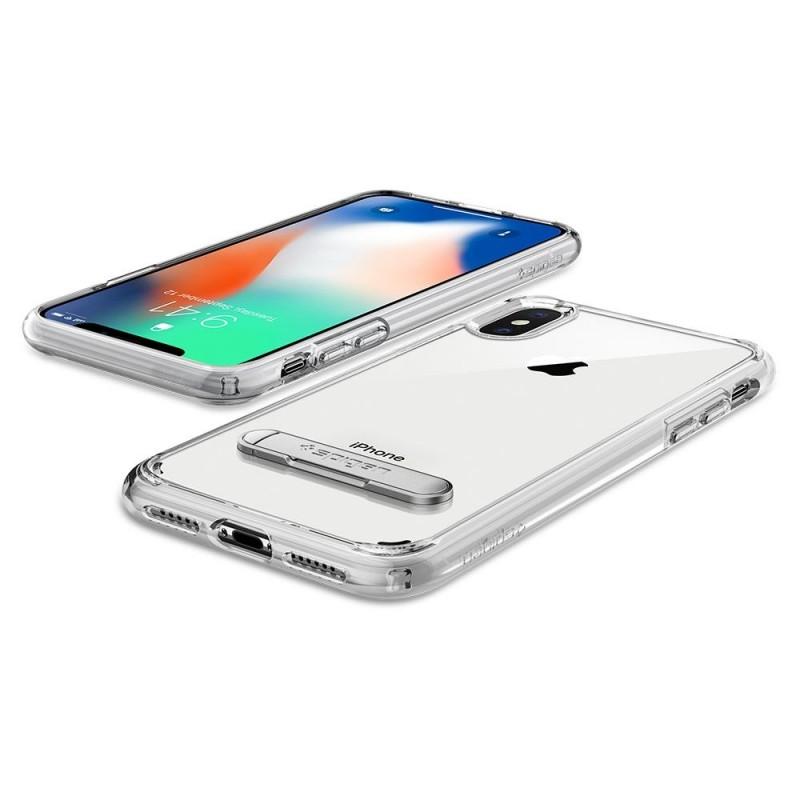 Spigen Ultra Hybrid S iPhone X/Xs Hoesje Transparant - 3
