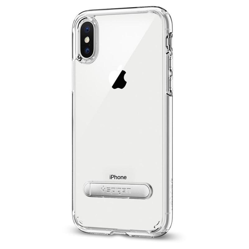 Spigen Ultra Hybrid S iPhone X/Xs Hoesje Transparant - 5