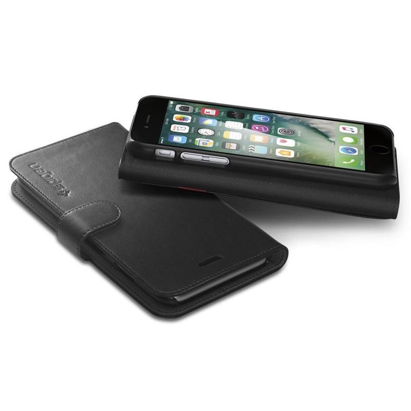 Spigen Wallet S Case iPhone 7 Black - 3