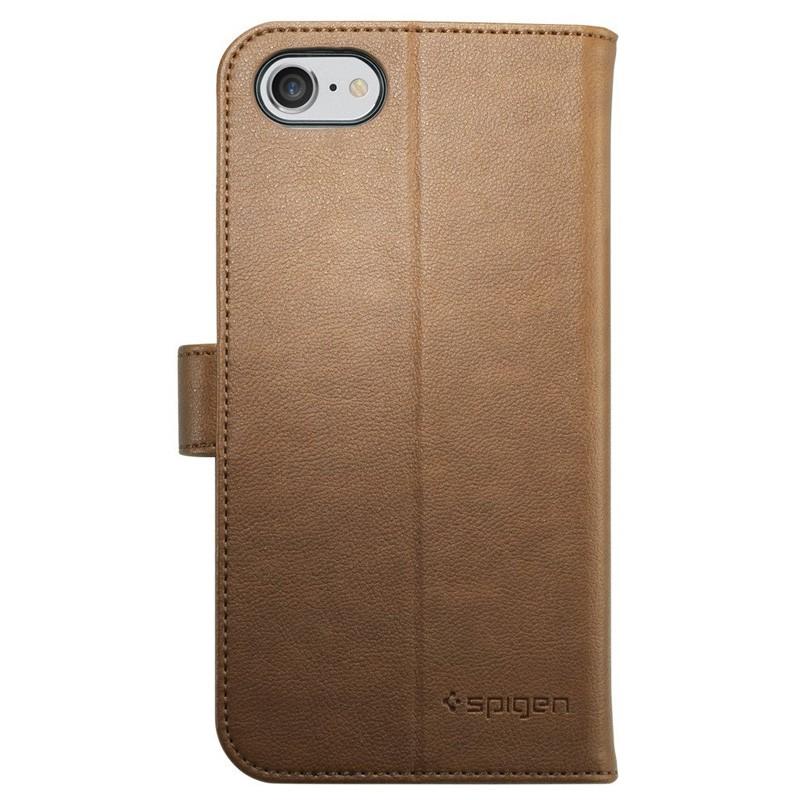 Spigen Wallet S Case iPhone 7 Brown - 2