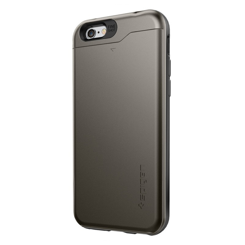 Spigen Slim Armor CS iPhone 6/6S Gunmetal - 1